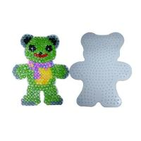 Cheap DIY BEADS SET Home diy fashion Bead Teddy Bear Pegboard diy toys for sale