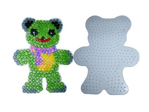 Quality DIY BEADS SET Home diy fashion Bead Teddy Bear Pegboard diy toys wholesale