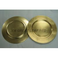 LACQUERWORK PRODUCTS 13''golden serving plate Manufactures