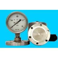 Cheap pressure instrument The welding flange divide pressure gauge for sale