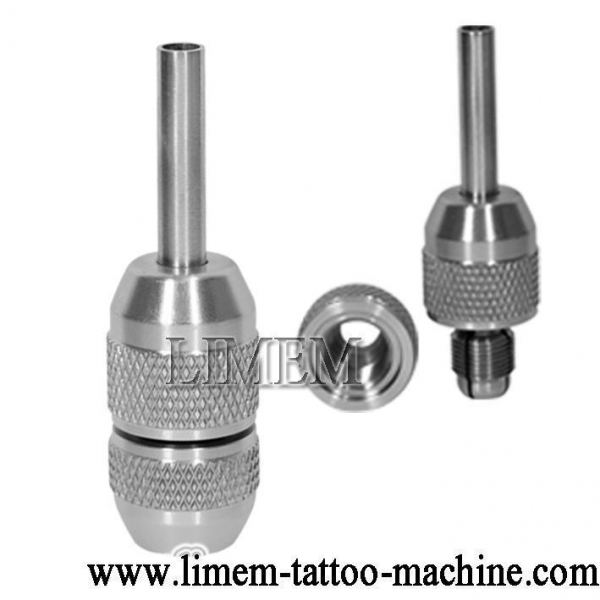 Tattoo stainless steel grip for sale of limem tattoo machine for Stainless steel tattoo