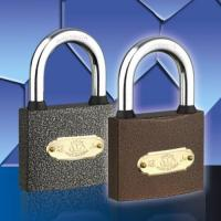 Cheap Spray Paint Padlock Plastic Paint (With Rubber) Padlock for sale