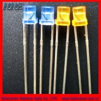 Cheap 3mm yellow flat top 3.0*3.85 for sale