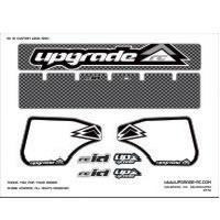 Cheap Wing Graphics UPG3228 UpgradeUpgrade 'Carbon' Wing Decal for Hyper 8/ST Wing for sale