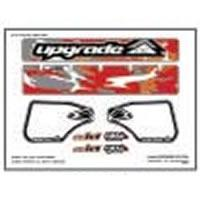 Wing Graphics UPG3203 Upgrade'Camo' Wing Decal for Proline Standard 1/8th Wing - Red