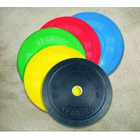 Solid Rubber Bumper Weight Plates