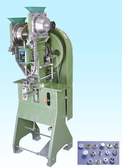 automatic snap fastener machine
