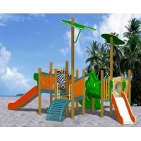 China Wooden swing sets on sale