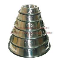 Cheap embossed stainless steel bowl 001A-E series for sale