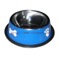 Cheap 8.5 inch red colored pet feeder 001C-22 for sale