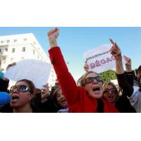 Cheap Tunisian women hold tight to rights after revolution for sale