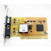 Cheap Multiport Serial Car 2 RS485/422 serial port expansion card (optical isolated) for sale