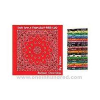Cheap Paisley II Collection - Light Blue - Imported paisley design bandanna made of 100% cotton. for sale