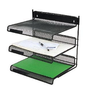 Quality 3-TIER metal mesh file tray wholesale