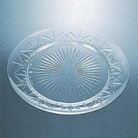 Legacy 9 Inch Clear Plastic Catering Plates BERRY611146 Manufactures