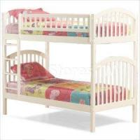 China Richmond Twin over Twin Wood Bunk Bed in White - Atlantic Furnit on sale