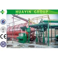 Cheap High oil yield waste tire pyrolysis plant with no pollution for sale