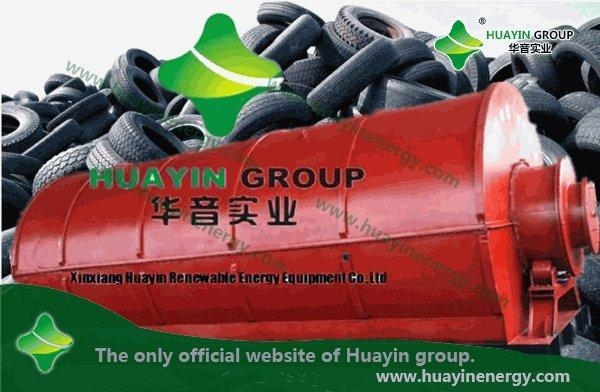 Quality Products Hot sale, HUAYIN waste tyre pyrolysis machine wholesale