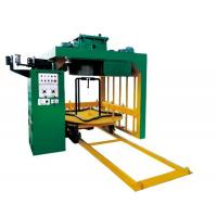 Inverted vertical drawing machine