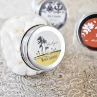 Cheap Anniversary Gifts Personalized Wedding Favor Jars - as low as $1.26 for sale