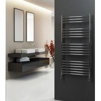 304 Stainless Steel Curved Ladder Style Towel Rail 800mm High X 600mm Wide