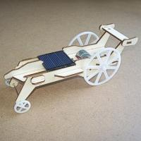 Cheap solar toys Plywood Solar Car (DIY Accessory Parts) for sale