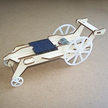Quality solar toys Plywood Solar Car (DIY Accessory Parts) wholesale