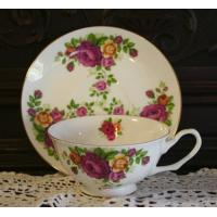 Teacups and Saucers, and Trios Manufactures