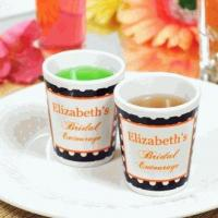 Buy cheap Personalized Bridal Entourage Party Shot Glasses (Set of 2) from wholesalers