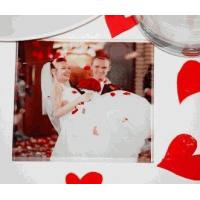 Buy cheap Custom Printed Glass Photo Coasters (Bulk Rate) from wholesalers