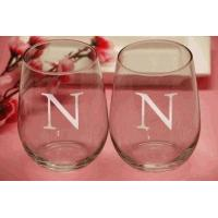 Buy cheap Engraved Stemless Wine Glasses (Set of 4) from wholesalers