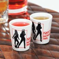 Buy cheap Personalized Devil's Advocate Party Shot Glasses (Set of 2) from wholesalers