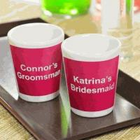 Buy cheap Personalized Souvenir Shot Glasses (Set of 2) from wholesalers