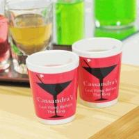 Buy cheap Personalized Cosmopolitan Party Shot Glasses (Set of 2) from wholesalers