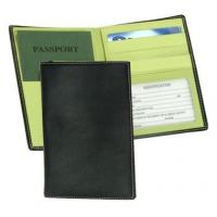 Cheap Leather Passport & Currency Wallet w ID Window & Credit Card SlotsItem #: 95151 for sale