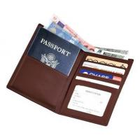 Cheap Leather Travel Wallet w Passport & Currency PocketsItem #: 95147 for sale