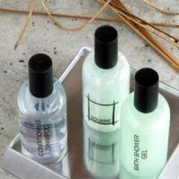 Cheap Hotel Guest Bathroom Amenity Cosmetics Body Wash Bottles for sale