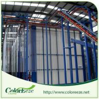 Street Price Complete Vertical Powder Coating Line Powder Painting Line Manufactures
