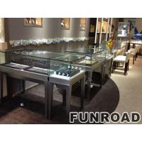 luxury wooden glass showcase for jewellery ,jewelry display counter for sale display for jewelry