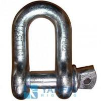 Buy cheap G210 Chain Shackle, US Type Screw Pin Drop Forged from wholesalers