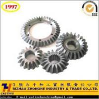 precision casting cast iron steel cast bevel gear