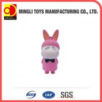 Cheap PU Stress Toys Hot new products Mini keychain rabbit action figures for baby toy for sale