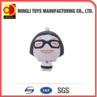 Cheap PU Stress Toys Factory custom Mini keychain Cartoon action figures for baby toy for sale