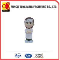 Cheap PU Stress Toys Special cute Mini keychain Ninja Kids Action Figure for baby toy for sale
