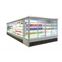 Cheap Upright Glass Door Air Cooling Refrigerator for sale