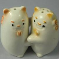Cheap Ceramic Salt & Pepper Shakers Ceramic Animal Salt & Pepper Shakers for sale