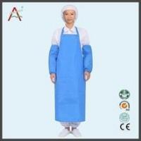 White disposable surgical nonwoven bouffant cap