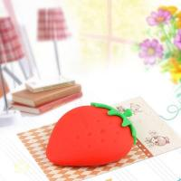 Cheap Contact Strawberry silicone key bag (5) for sale