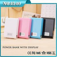 Cheap PA003 2015 new products led indicator battery power bank 12000 mah powerbank for sale