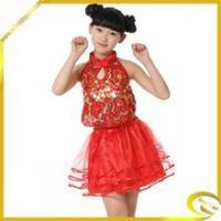 Cheap beautiful girls stage performance dance costume for children's wholesale for sale